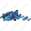 BBB BCB-99 CableCap bowdenház kupak szett 6db 5mm-es, 10 db 4mm-es, 4db alu vég, kék
