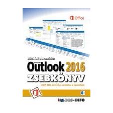 BBS-INFO Kft. Bártfai Barnabás: Outlook 2016 zsebkönyv informatika, számítástechnika