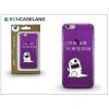 BCN Caseland Apple iPhone 7 Plus/iPhone 8 Plus szilikon hátlap - BCN Caseland Limited Edition - lila