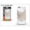 BCN Caseland Apple iPhone 7 Plus/iPhone 8 Plus szilikon hátlap - BCN Caseland Wood N Marble