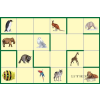 BEE-BOT Gyakorlópálya, állatok