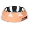 BEEZTEES macskatál diamond rózsaszín 14x4cm