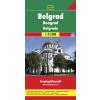 Belgrád várostérkép - f&b PL 128