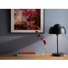 Beliani Divatos fekete fém asztali lámpa SENETTE