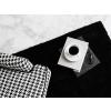 Beliani Fekete Shaggy szőnyeg 80 x 150 cm DEMRE