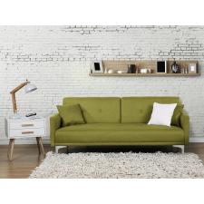 Beliani Kárpitozott kanapéágy - szövet kanapé - zöld - LUCAN bútor