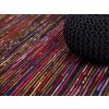 Beliani Színes-fekete szonyeg - 160x230 cm - Pamut - BARTIN