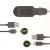 Belkin F8Z635 autós töltő 4 USB porttal, micro USB és Lightning kábellel 4th gen - 20W - fekete
