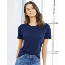 Bella+Canvas Női rövid ujjú póló Bella Canvas Women's Relaxed Jersey Short Sleeve Tee S, Sötét szürke női póló