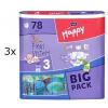 Bella Happy Midi Big Pack Pelenka, 234 db