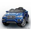 Beneo Elektromos Kisautó Luxus BMW X6-Metál Kék