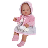 Berbesa Luxus spanyol baba-kisbaba Berbesa Amanda 43cm | Rózsaszín |