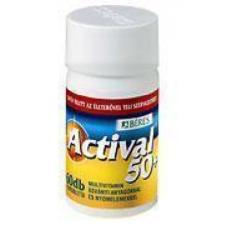 Béres Actival 50  filmtabletta vitamin és táplálékkiegészítő