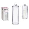 Berilo szervező Sminklemosó vattakorong Műanyag (8 x 18 x 8 cm)