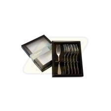 Berndorf 755785 Süteményes készlet 6 részes Casino tányér és evőeszköz