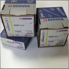 Berner forgácslap csavar 3x12mm PZ1 barkácsolás, csiszolás, rögzítés