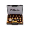 Beta 1105/C29T 29 darabos tömítéskivágó készlet, Ø 2-50 mm