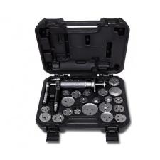 Beta 1471M/C22 Levegős tárcsafékdugattyú szerelő szerszám, jobb- és balmenetes, tartozékkal autójavító eszköz