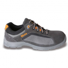 Beta 7213FG/36 perforált hasítottbőr munkavédelmi cipő, jól szellőző mesh betétekkel, 36 méret
