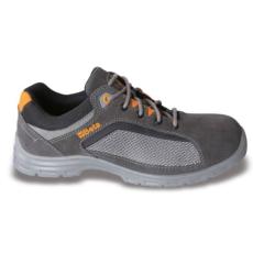 Beta 7213FG/40 perforált hasítottbőr munkavédelmi cipő, jól szellőző mesh betétekkel, 40 méret