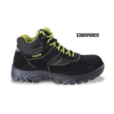 Beta 7238WR/37 hasítottbőr munkavédelmi cipő nylon betétekkel, nagyellenállású gumitalp és gyorskioldás ,vízálló, 37 méret