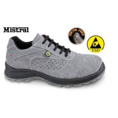 Beta 7319ESD/45 Perforált hasítottbőr munkavédelmi cipő, ESD, 45 méret