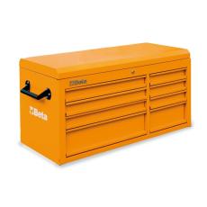 Beta C38T Szerszámláda üres – narancssárga színben