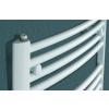 Betatherm BY 50125 (1215*500) íves fürdőszobai radiátor, fehér, BY Dhalia törölköző szárító radiátor, fürdőszobai csőradiátor, BY Dhalia
