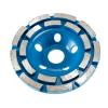 Betonmaró gyémánttárcsa Dupla soros d=125x22,23 mm kék - TLS-DIAMOND