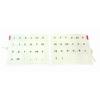 Betűtartó papír - gumis