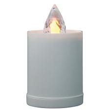 BFT8032W LED gyertya ? 103 mm, sárga karácsonyi dekoráció