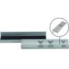 BGS Technic 2 részes satupofa betét készlet, alumínium, 125 mm (BGS 9284)
