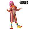 BigBuy Carnival Gyerek Jelmez Bohóclány 3-4 Éves kor