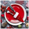BigBuy Christmas Mikulás Sapka Tartó 145897 Piros