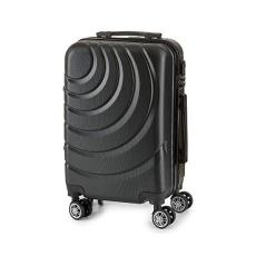 BigBuy Home Kabin bőrönd ABS (22 x 57 x 37,5 cm) (Fekete)