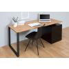 Bighome.hu Písací stôl COMPACT 160 cm - čierna