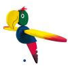 Bino Fa függő papagáj báb, nagy