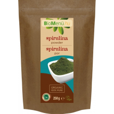 Bio menü bio spirulina por 250 g vitamin és táplálékkiegészítő