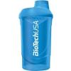 BioTech Neon Wave shaker 600 ml (kék) (1 db)