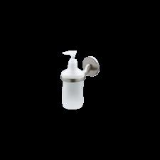 Bisk VIRGINIA ÜVEG SZAPPANADAGOLÓ/TARTÓ fürdőszoba kiegészítő