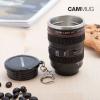 BITBLIN Cammug Mini Objetkív Kulcstartó-Csésze