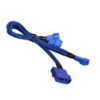Bitfénix Bitfenix Molex - 3x 3-Pin 5V Adapter 20cm - kék / kék