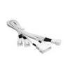 Bitfénix Bitfenix Molex - 3x 3-Pin 7V Adapter 20cm - fehér / fehér