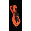 Bitfénix Bitfenix Molex 4x SATA adapter 20 cm - narancssárga / fekete