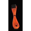 Bitfénix Bitfenix Molex hosszabbító 45cm - narancssárga / fekete