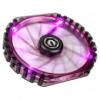 Bitfénix BitFenix Spectre PRO 230mm ventilátor lila LED - fekete