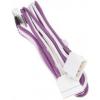 Bitfenix Molex SATA táp Tápkábel Lila 20cm BFA-MSC-M4SA20PWW-RP