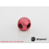 Bitspower Deep Blood Red T-Block /BP-DBRTMB/