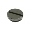 Bitspower Dugó G1/4 - lapos, fényes fekete
