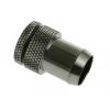 Bitspower Fitting G1/4, 13mm - záródugó, fényes fekete